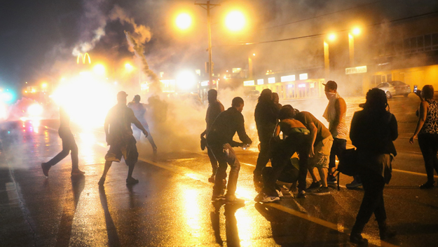 Riot in Ferguson